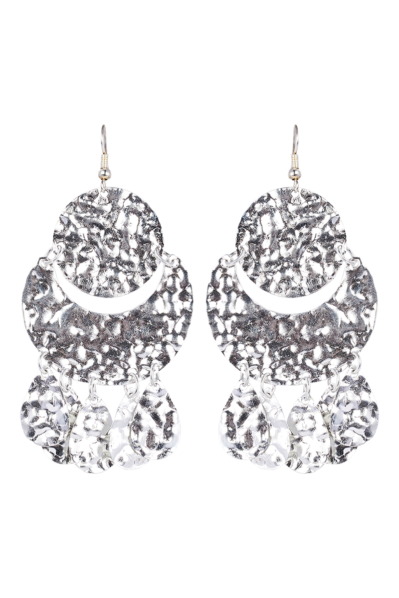 Kruger Disc Earring  - Silver - eb&ive Earring