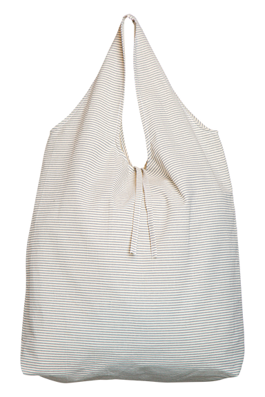 Mana Eco Shopper - Grey Stripe - eb&ive Bag