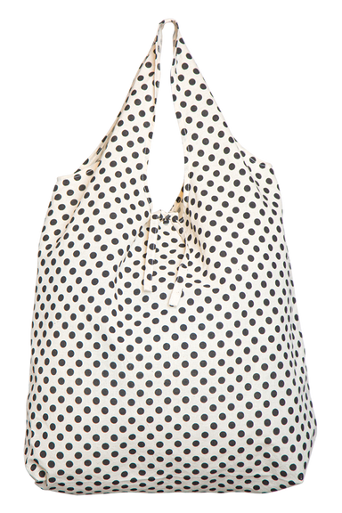 Mana Eco Shopper - Black Spot - eb&ive Bag