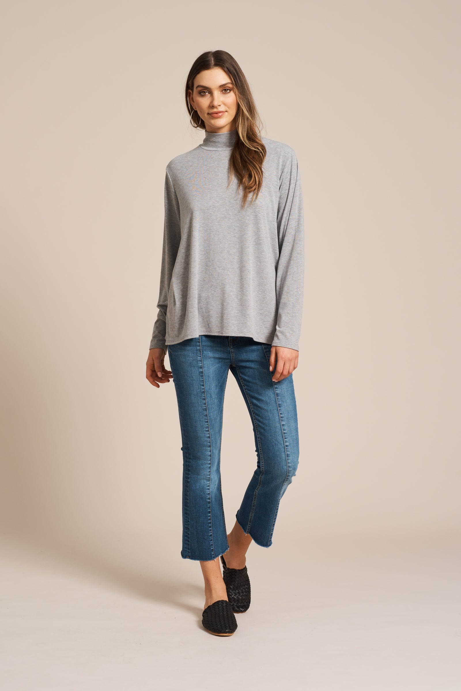 Vera Turtleneck - Marle - eb&ive Clothing - Top L/S