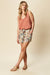 Siela Short - Buff Botanical - eb&ive Clothing - Short Woven