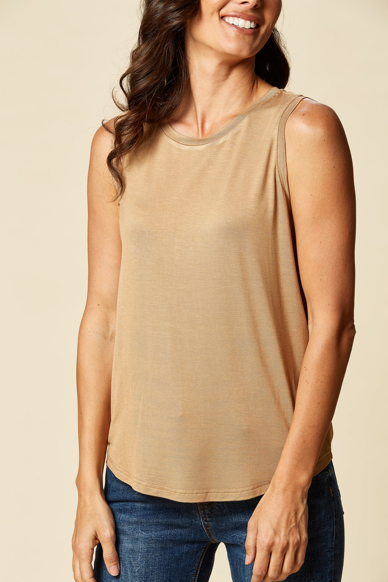 Sorella Vest - Sierra - eb&ive Clothing - Top Sleeveless