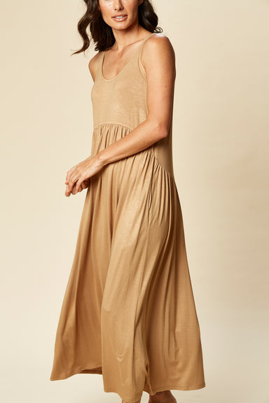 Sorella Tank Dress - Sierra - eb&ive Clothing - Dress Maxi