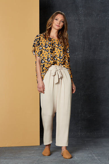 Getaway Pant - Oat - eb&ive Clothing - Pant Relaxed