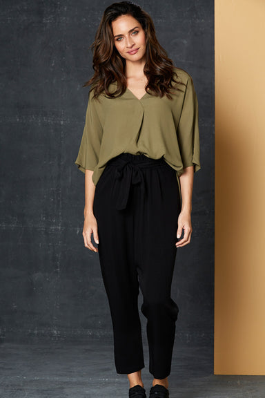 Getaway Pant - Black - eb&ive Clothing - Pant Relaxed