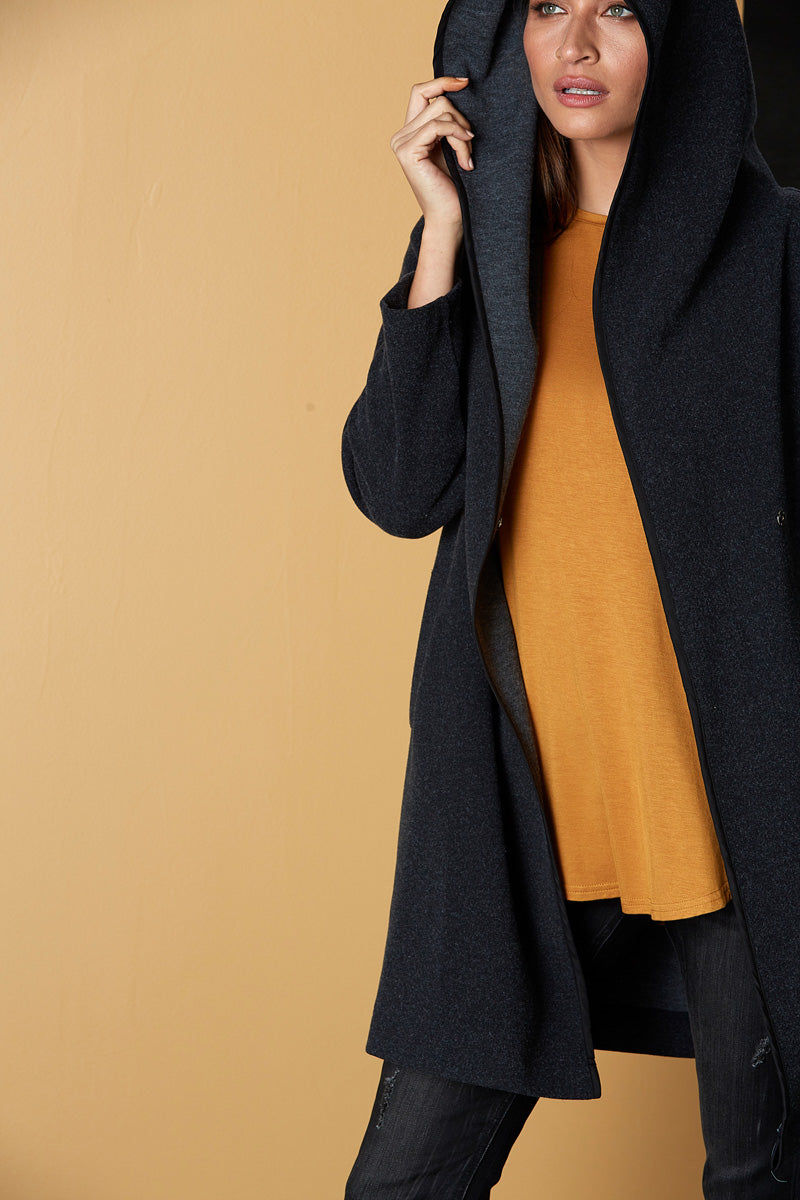Weekender Jacket - Flint - eb&ive Clothing - Jacket Relaxed