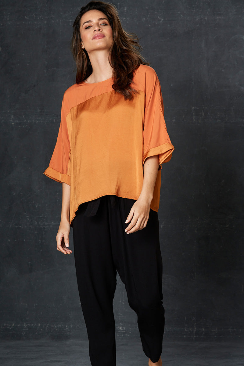 Liberty Top - Caramel - eb&ive Clothing - Top S/S One Size