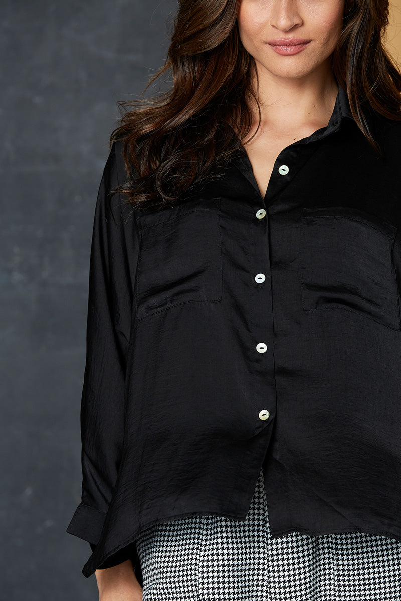 Liberty Shirt - Black - eb&ive Clothing - Shirt One Size