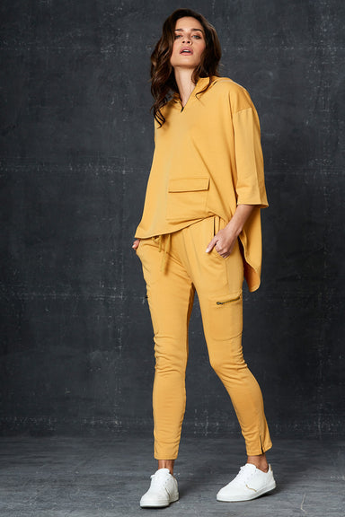 Road Trip Pant - Saffron - eb&ive Clothing - Pant Relaxed Casual