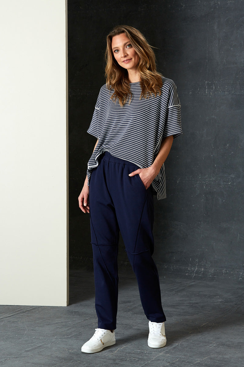 Arrival Sweat Pant - Indigo - eb&ive Clothing - Pant Relaxed Casual