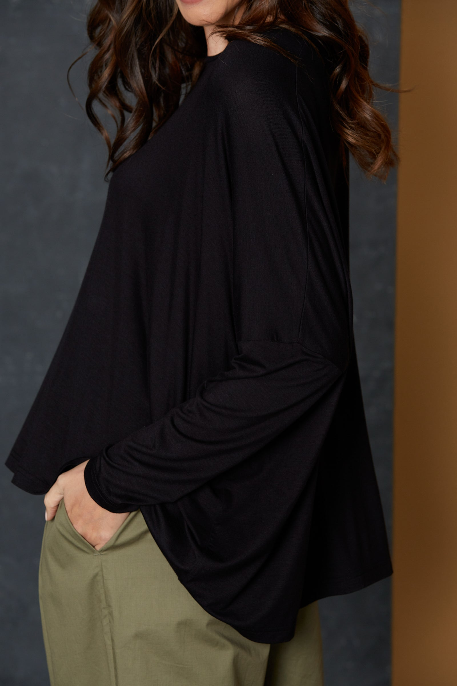 Muse Top - Black - eb&ive Clothing - Top L/S One Size