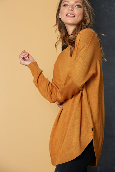 TGIF Knit - Saffron - eb&ive Clothing - Knit Jumper One Size