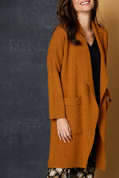 Mellow Cardigan - Amber - eb&ive Clothing - Knit Cardigan One Size
