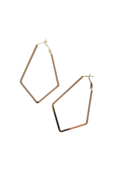 Liberty Diamond Earring - Gold - eb&ive Earring