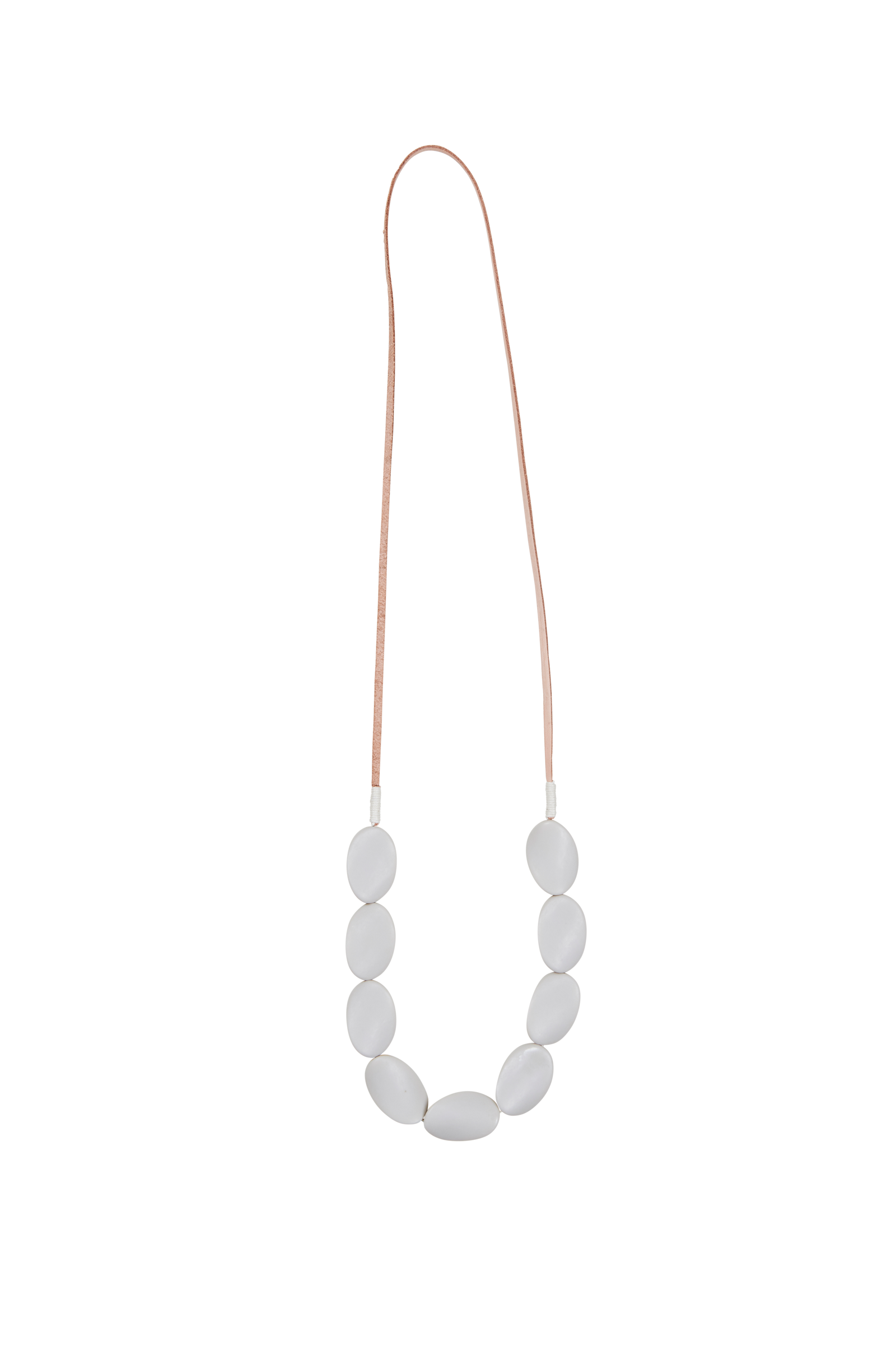 Bask Necklace - Grey - eb&ive Necklace