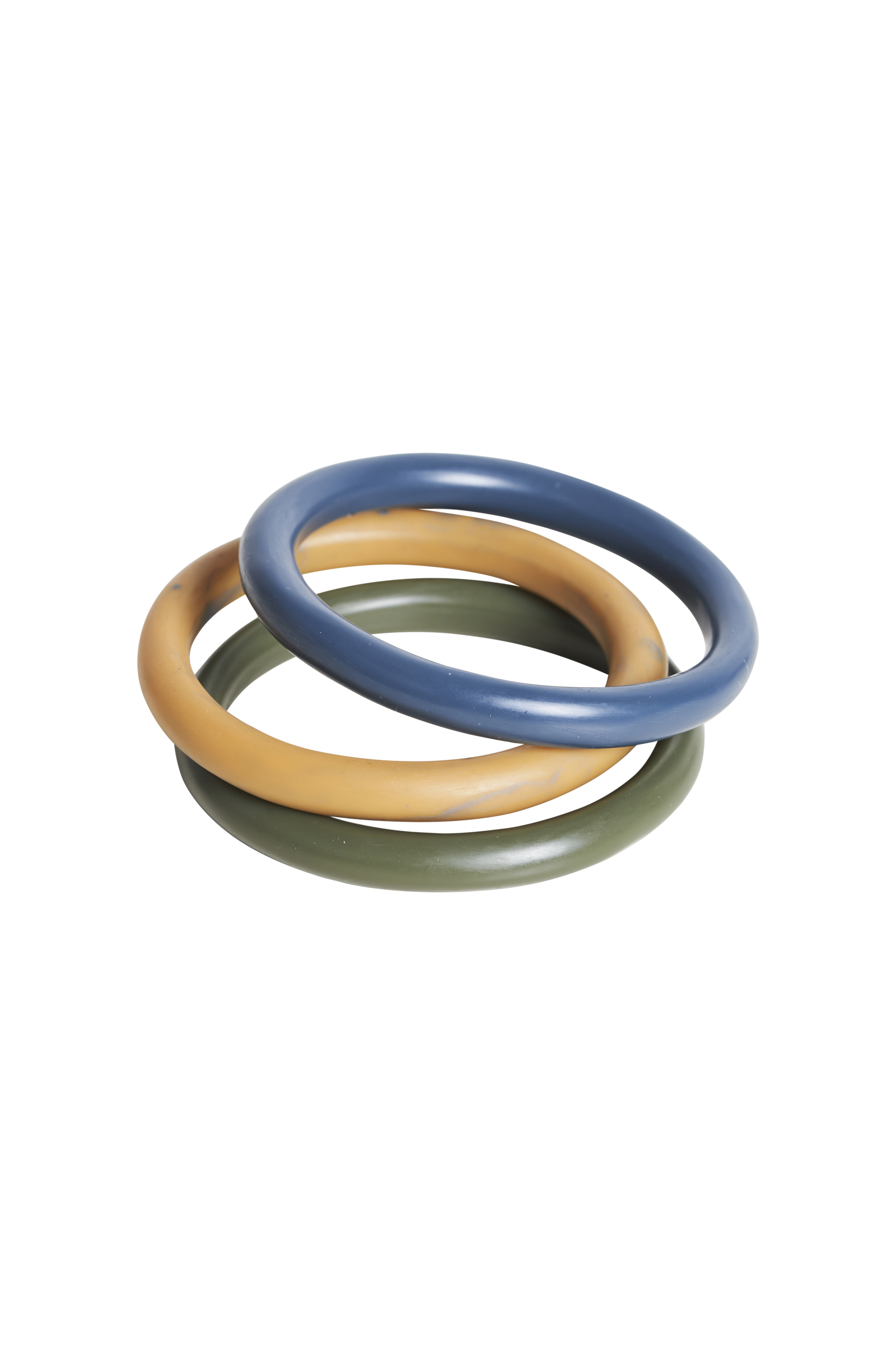 Bask Bangle  - Moss Mix - eb&ive BangleBar