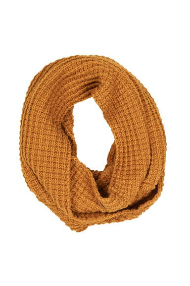 Bask Snood - Saffron - eb&ive Scarves