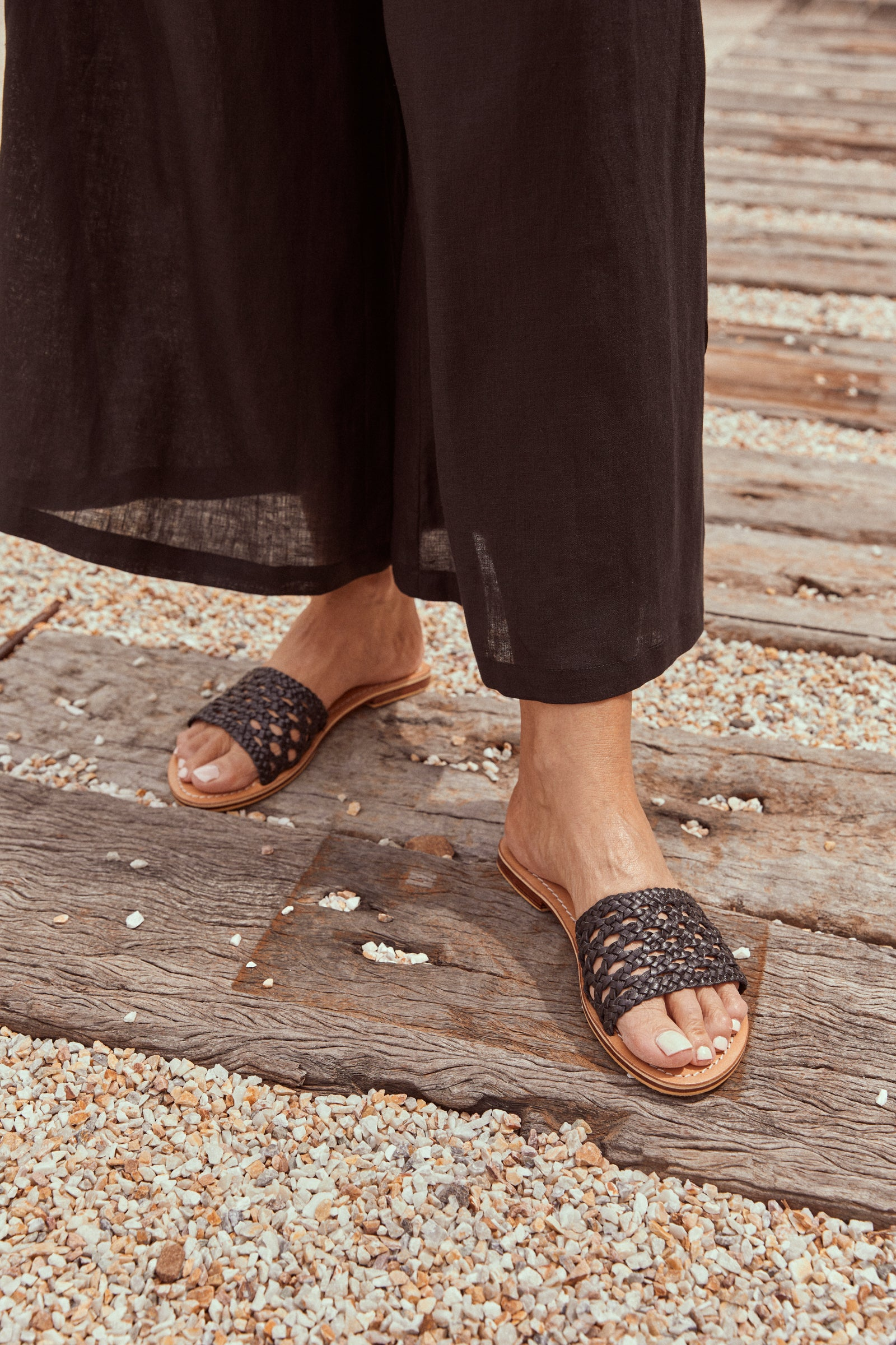 Madre Sandal - Sable - eb&ive Footwear - Sliders