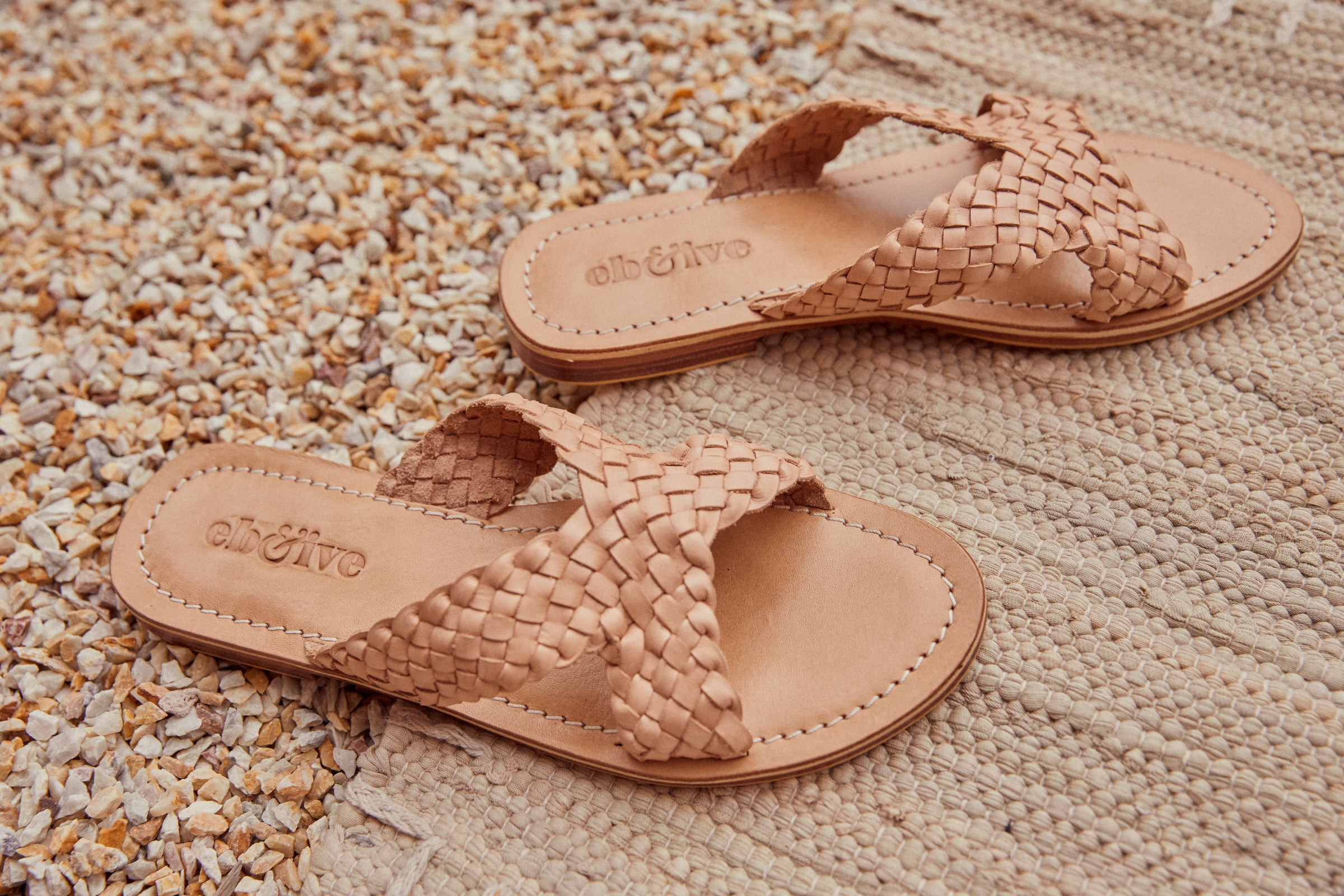 Tribu Sandal - Buff - eb&ive Footwear - Sliders