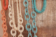 Ohana Link Necklace - Teal - eb&ive Necklace