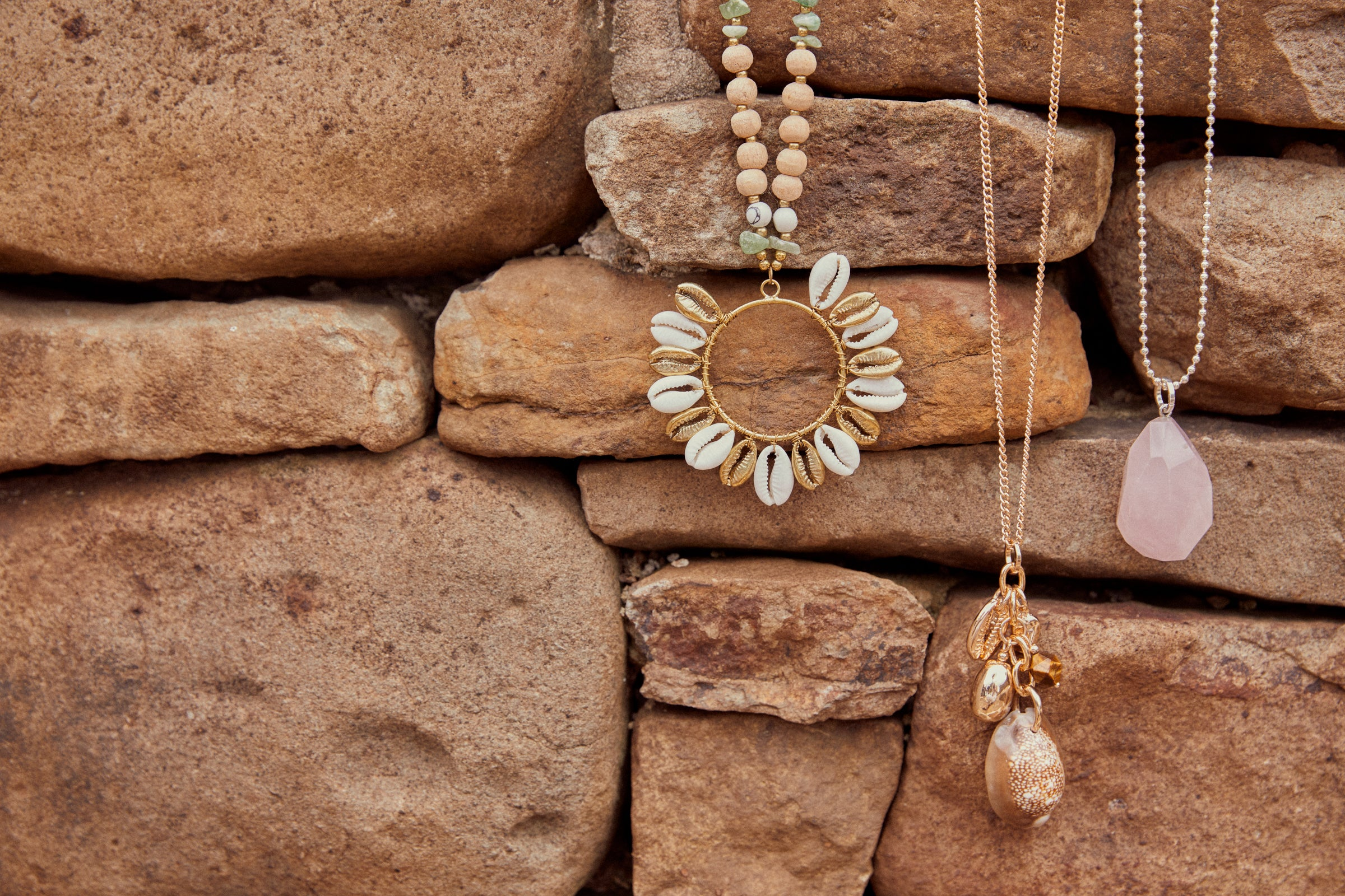 Native Necklace - Rose - eb&ive Necklace