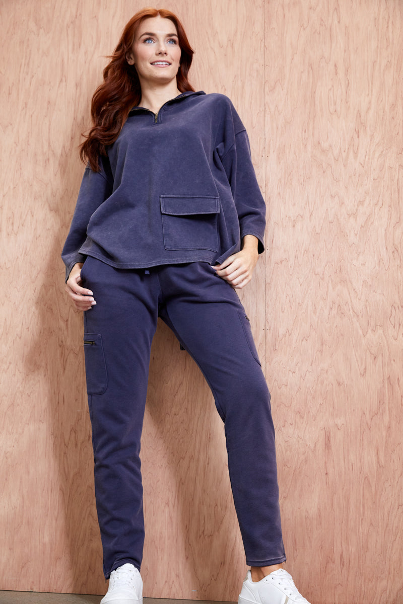 Road Trip Pant - Midnight - eb&ive Clothing - Pant Relaxed Casual