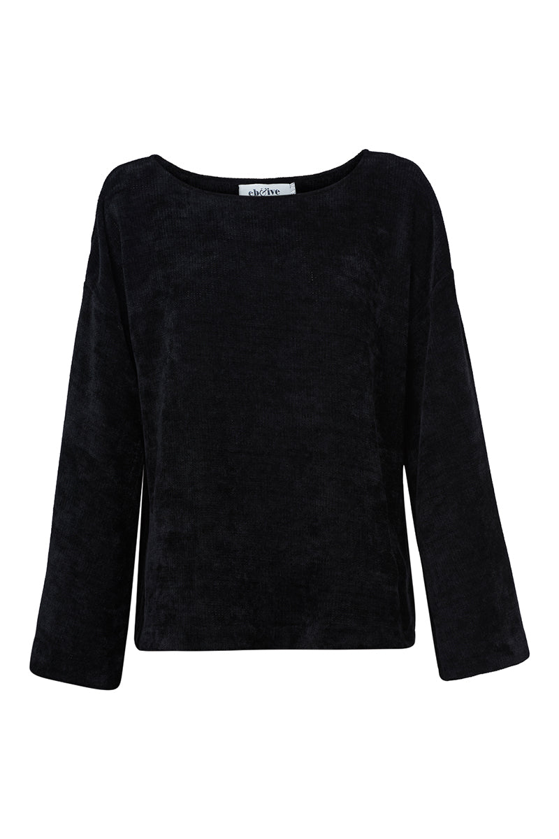 Savoy Bell Knit - Onyx - eb&ive Clothing - Knit Jumper