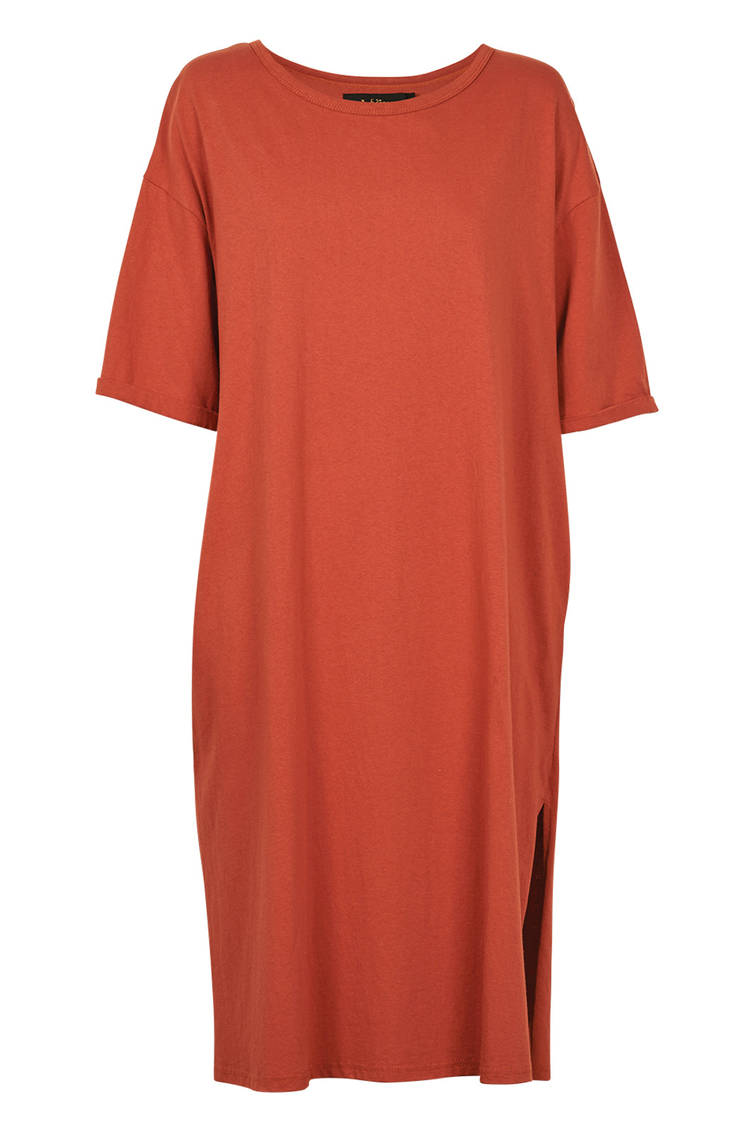 Rosa Tank Dress - Terracotta - eb&ive Clothing - Dress Mid
