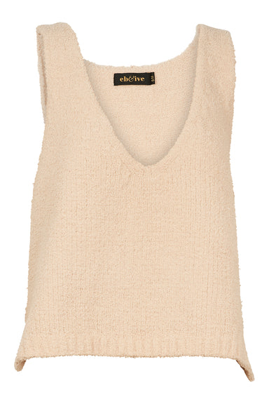 Madeline Vest - Bisque - eb&ive Clothing - Knit Vest