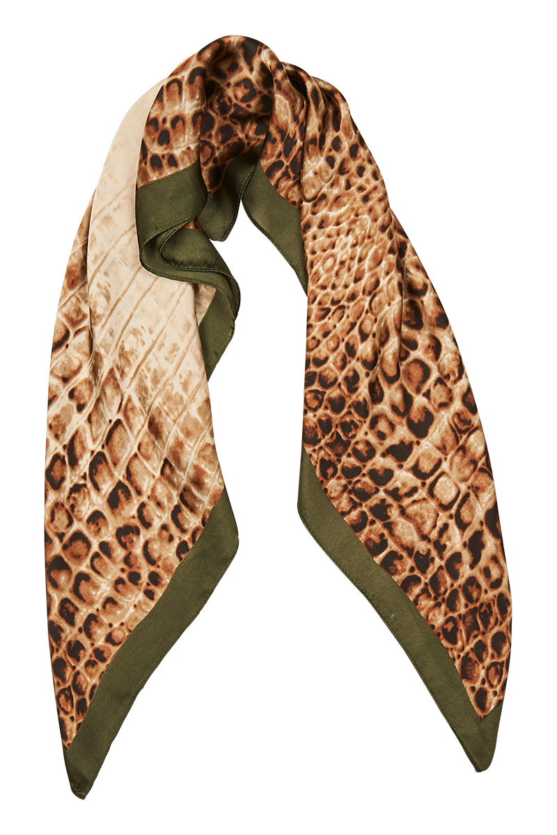 Aretha Scarf - Olive - eb&ive Scarves