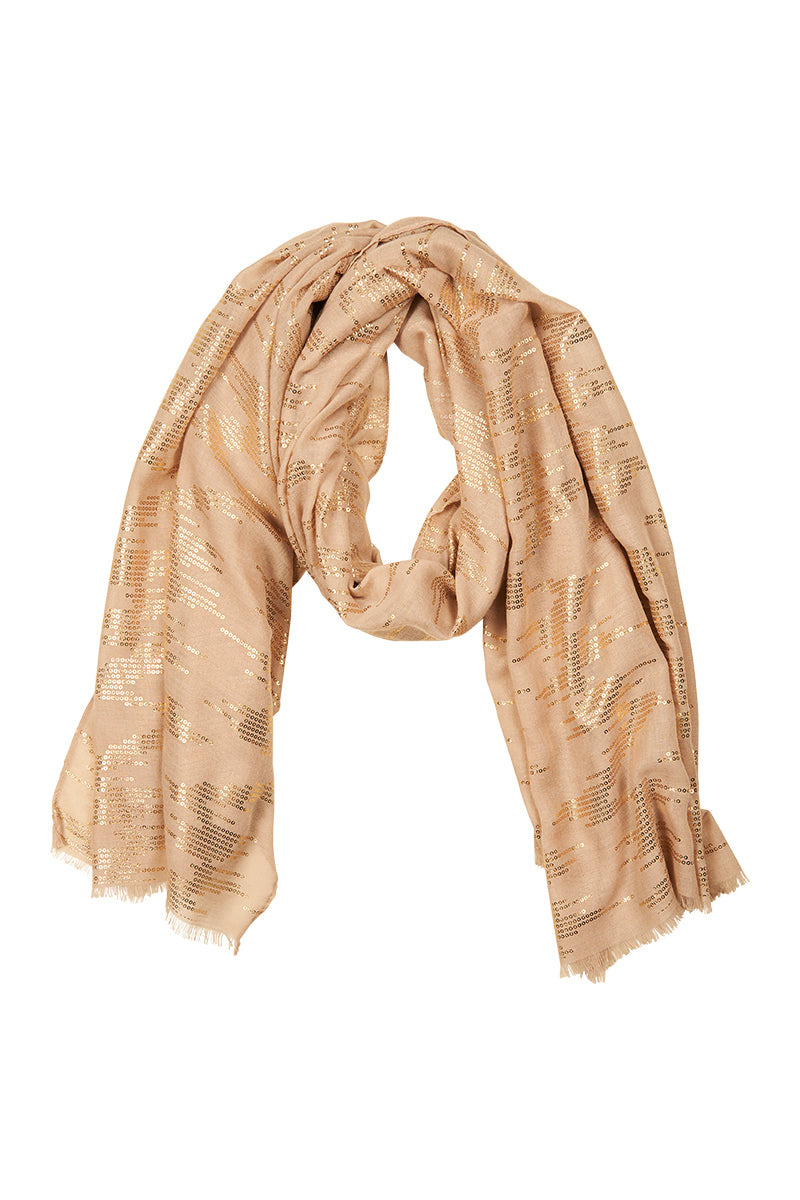 Coco Scarf  - Ivory - eb&ive Scarves