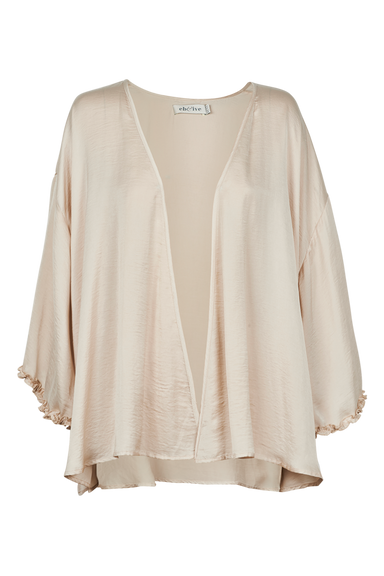 Zena Cape - Bisque - eb&ive Clothing - Top 3/4 Sleeve