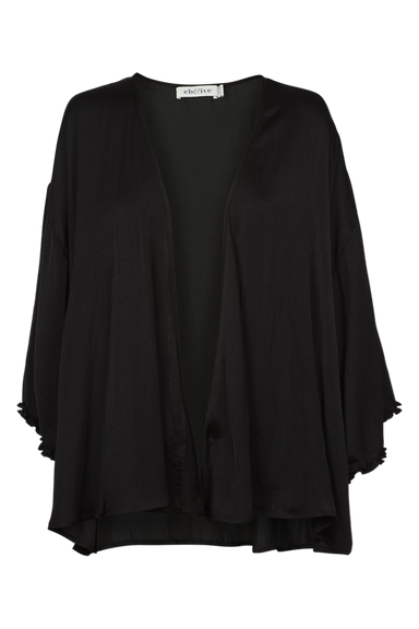 Zena Cape - Sable - eb&ive Clothing - Top 3/4 Sleeve