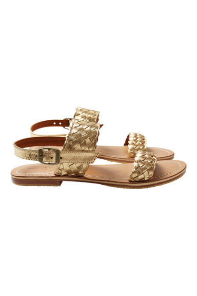 Ohana Sandal - Gold - eb&ive Footwear - Sandals