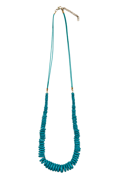 Ohana Necklace - Teal - eb&ive Necklace