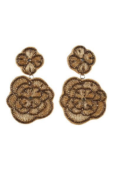 Mama Flora Earring - Copper - eb&ive Earring