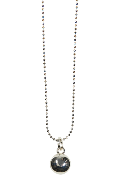 Royalty Dome Necklace - Silver - eb&ive Necklace