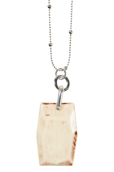 Royalty Bar Necklace - Ivory - eb&ive Necklace