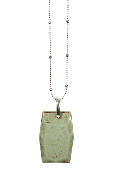 Royalty Bar Necklace - Mint - eb&ive Necklace