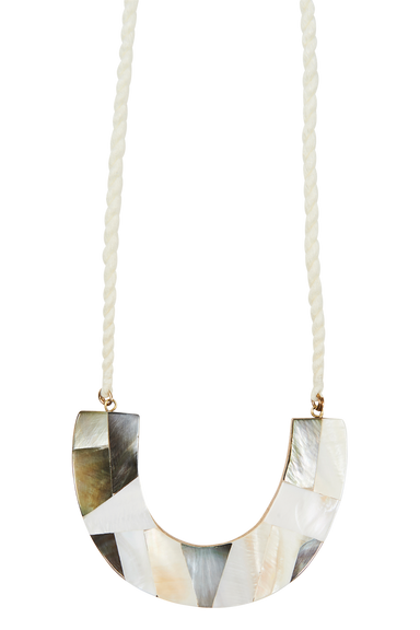 Native Necklace - Mother of Pearl - eb&ive Necklace