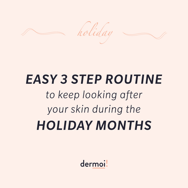 Plan your holiday with dermoi!⠀ ⠀