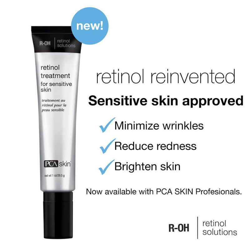 PCA Skin Retinol Treatment for Sensitive Skin 29.5g - Buy Online Now - dermoi! SHOP