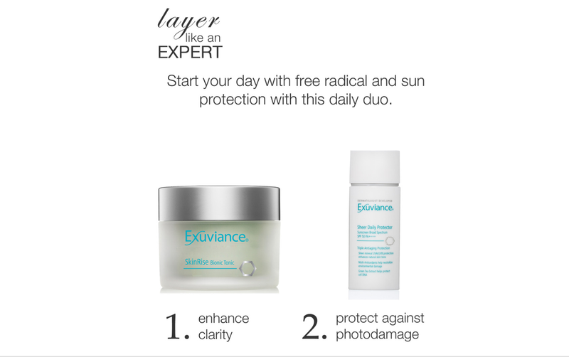 Exuviance Sheer Daily Protector SPF 50 50ml - Buy Online Now - dermoi! SHOP
