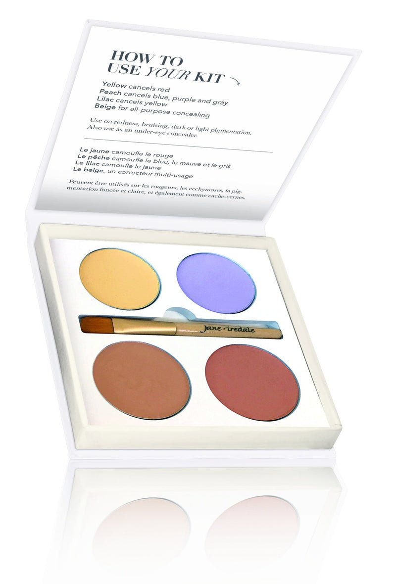 Jane Iredale Camouflage Kit Corrective Colours - Buy Online Now - dermoi! SHOP