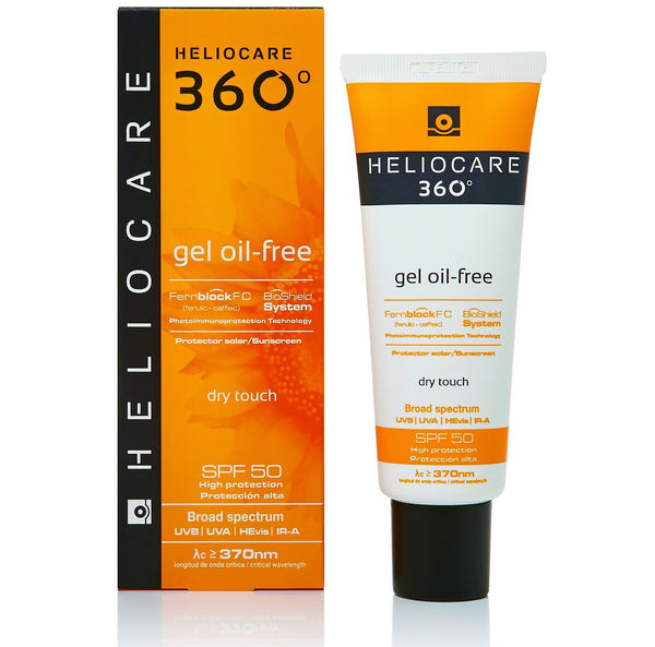 Heliocare 360° Oil-Free Dry Touch Gel SPF+50 50ml