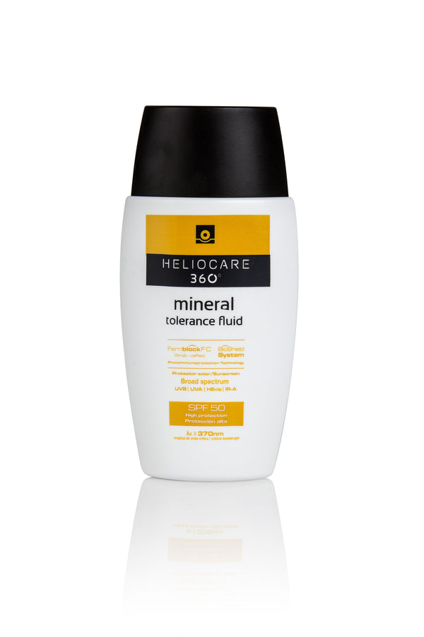 Heliocare 360 Mineral Tolerance Fluid SPF50+ 50ml - Buy Online Now - dermoi! SHOP