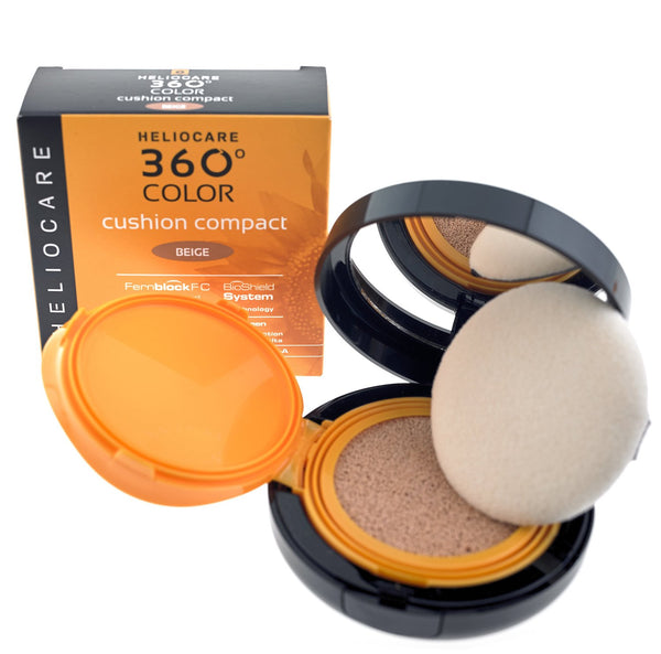 Heliocare 360 Color Cushion Compact SPF50+ Beige / Bronze 15g