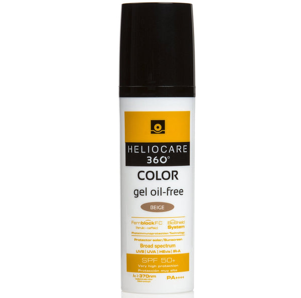 Heliocare 360 Color Gel Oil-Free SPF50+  50ml