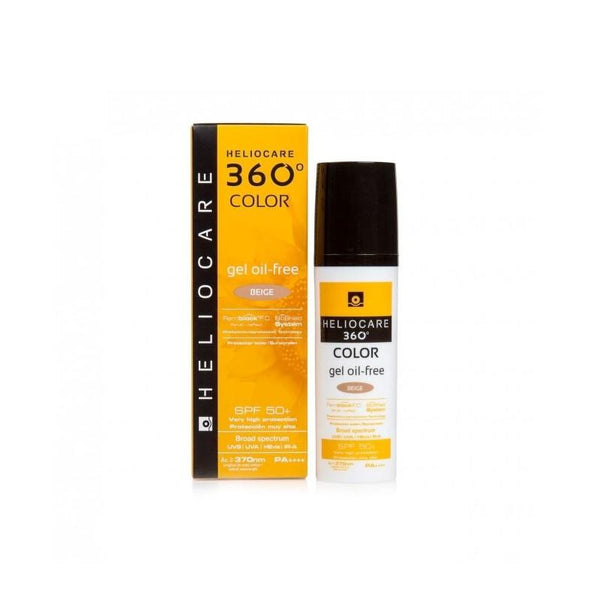 Heliocare 360 Oil-Free Gel SPF50+  50ml - Buy Online Now - dermoi! SHOP