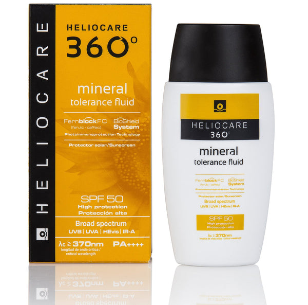 Heliocare 360 Mineral Tolerance Fluid SPF50+ 50ml